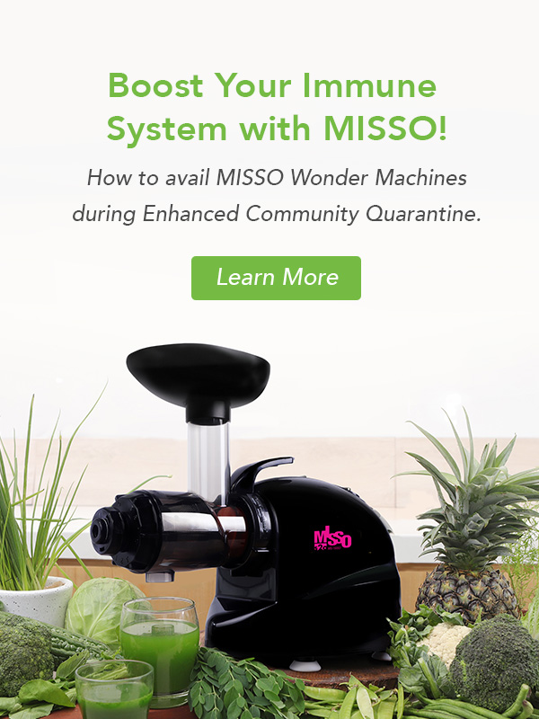 Boost your immune system with misso