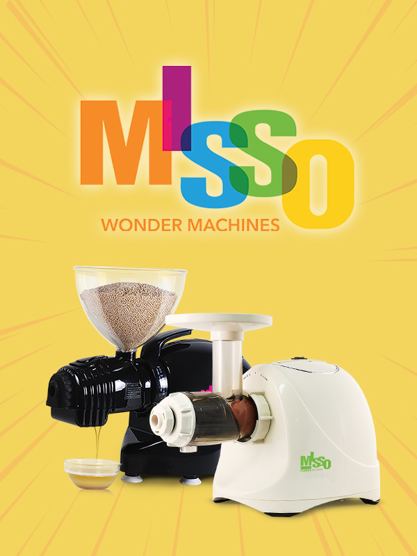 Misso Wonder Machine - The New and Better Matstone
