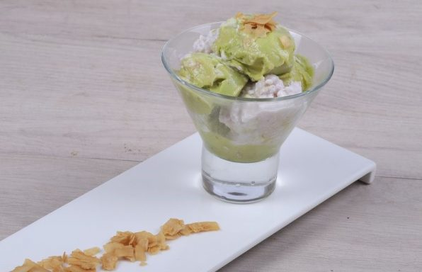 Coconut Avocado Sorbet