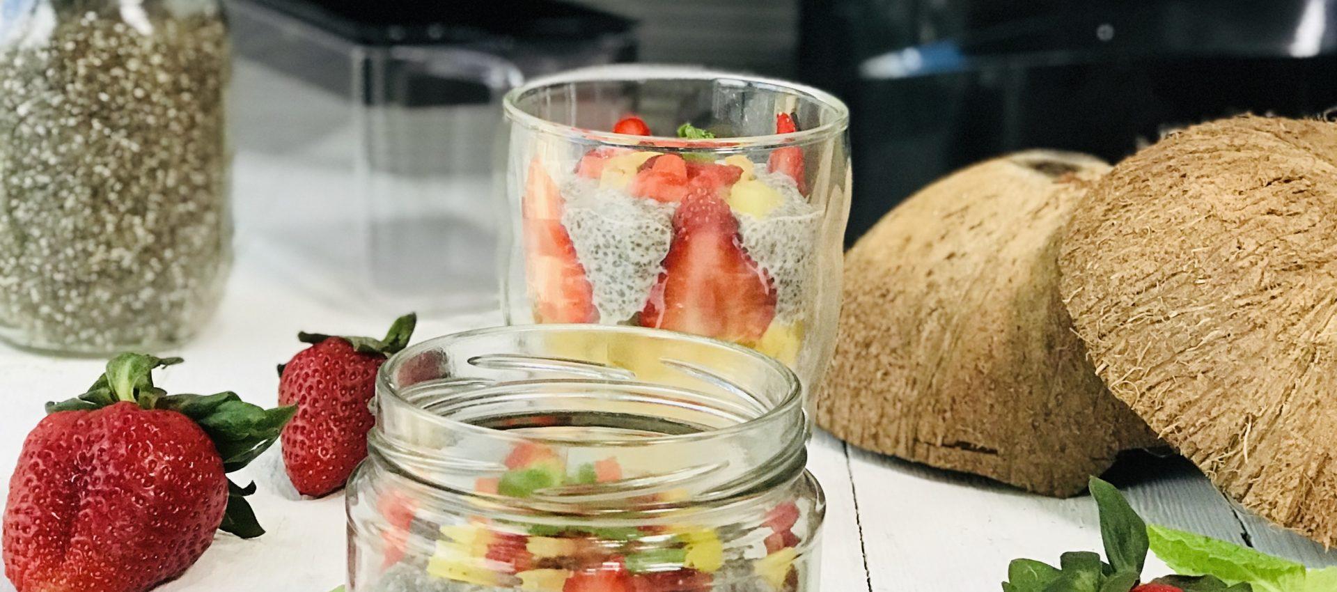 Coconut Milk Chia Chaff Pudding